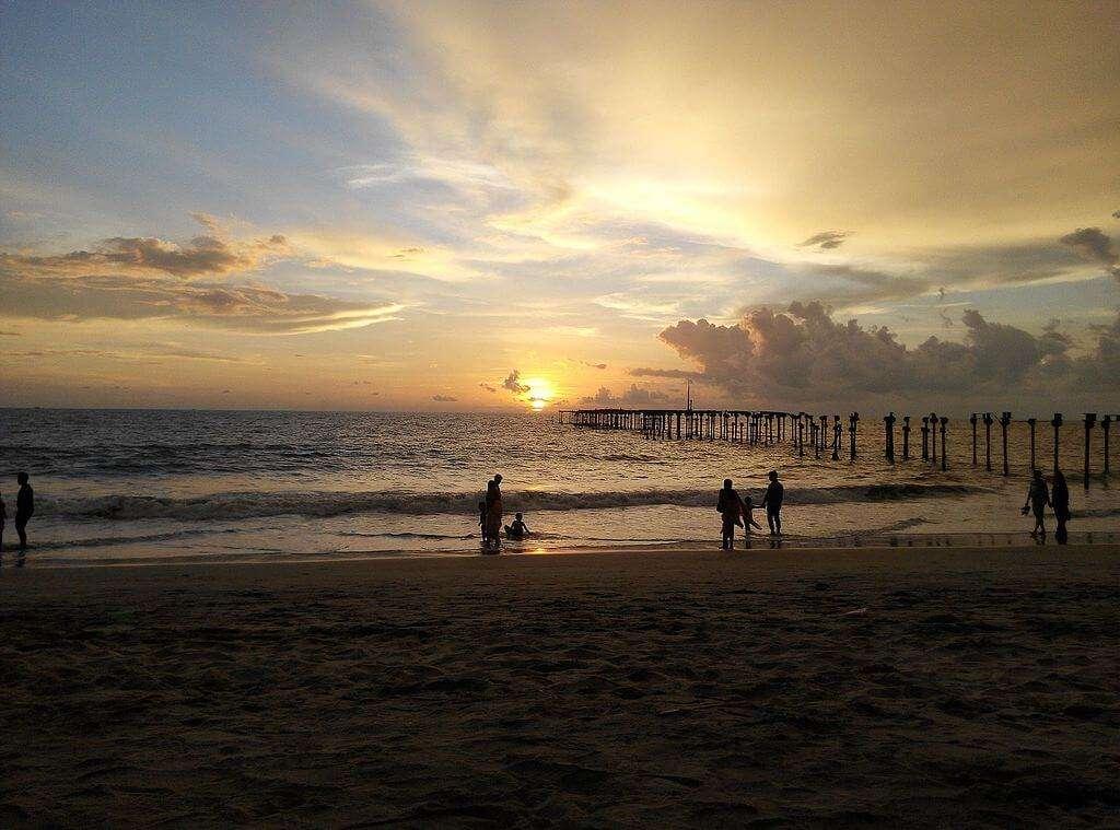 Alleppey_beach_sunset