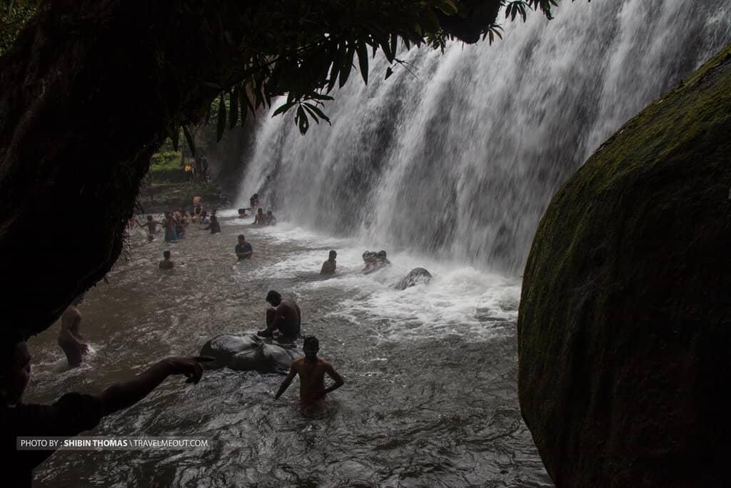 Anayadikuthu waterfalls