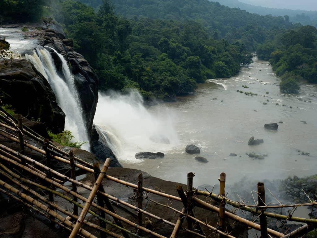 Athirappilly waterfalls Athirapally waterfalls Thrissur Kerala