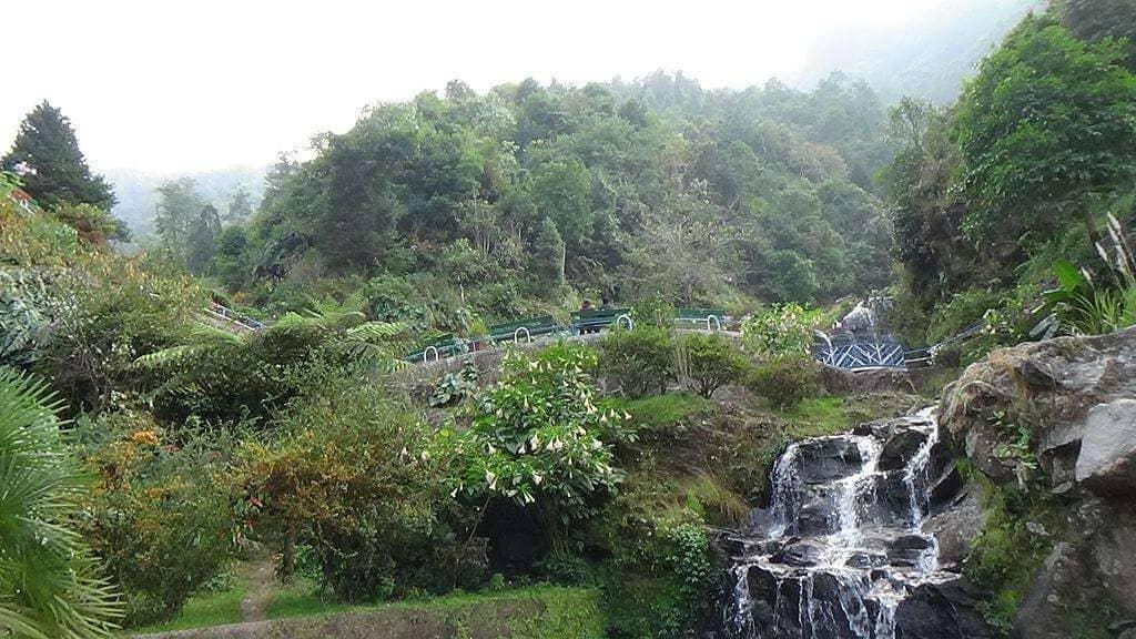 Barbotey Rock Garden Darjeeling, West Bengal