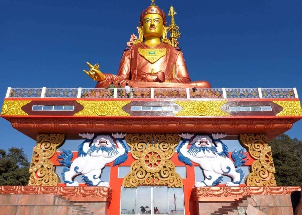 Guru Padmaasambhava statue Samdruptse Hill Namchi