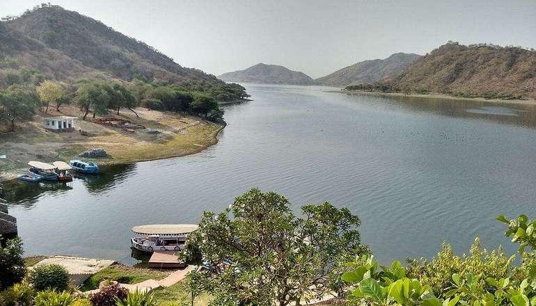 jaisamand lake, udaipur