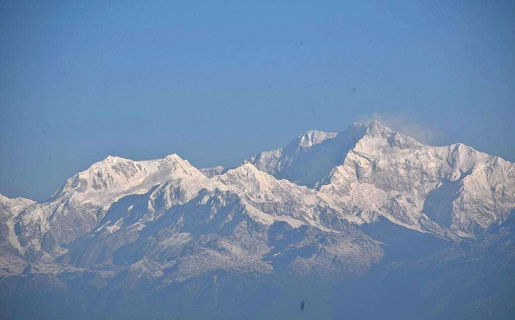 Kanchenjunga from Tiger Hills