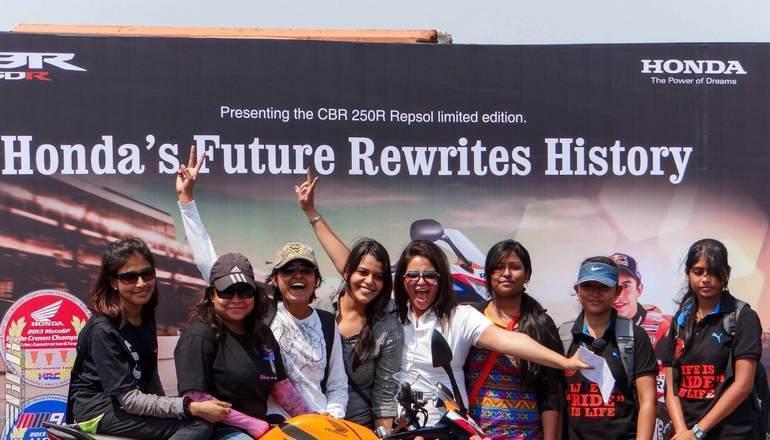 LadyBiker Women Riders in India