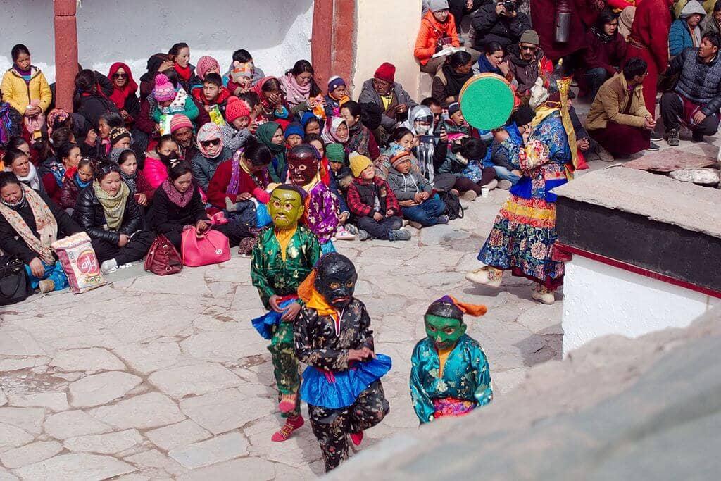 Matho Nagrang Festival at_Matho Monestary Ledakh