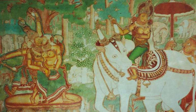 Murals at the Mattancherry Palace | by Mark Hills (CC BY- SA 2.0)