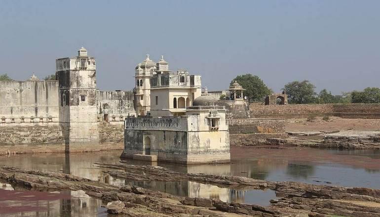 Padmini's Palace Chittorgarh Fort Rajasthan
