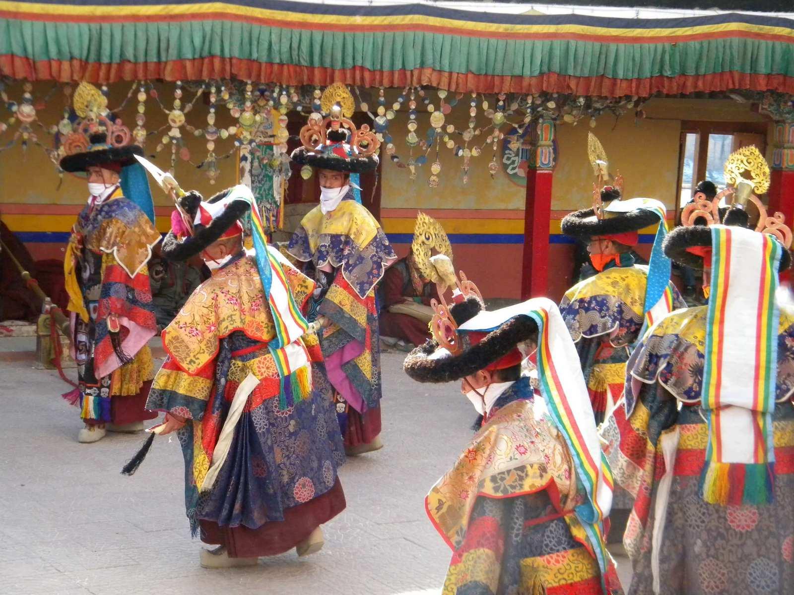 Spituk Gustor Festival Ladakh