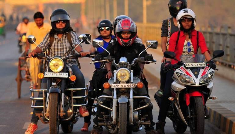 The Riderni Women Riders Club in India